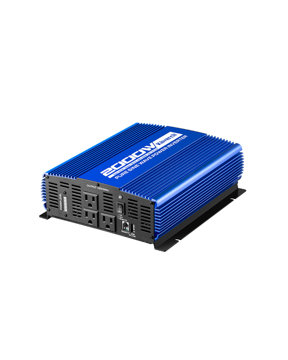 Kinverch 2000W Pure Sine Wave Power Inverter